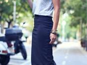 Combinaciones Outfit Falda Lapiz Rosa Palo