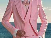 Chaqué novio rosa puero lino ibicenco Ottavio Nuccio Gala