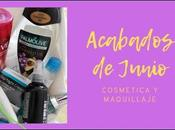 Productos Acabados Junio: Cosmética Maquillaje