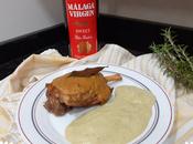 Codillos ternera malaga virgen puré brócoli patatas