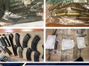 Detienen hombres aseguran armamento Villa Reyes
