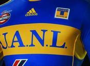 Nueva camiseta visitante Adidas Tigres UANL: 2011-2012