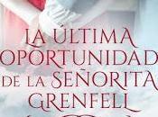 Reseña: última oportunidad señorita Grenfell Sandra Bree
