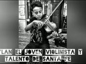 Dylan joven violinista talento santa