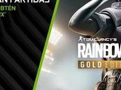 Mega-Hit 'Tom Clancy's Rainbow Siege' incluído gráficas GeForce