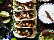 Tacos pastor vegetarianos