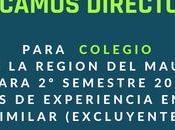 Oportunidades empleos educación general julio agosto).