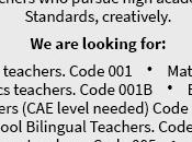Oportunidades empleos educación general(03 agosto).