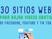 webs para descargar videos gratis Redes Sociales Tok, Facebook Youtube