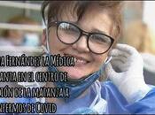"""Médica canta canción Amor Despues Amor"""" enfermos Covid centro aislamiento"""