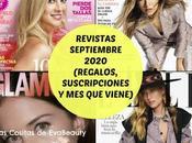 Revistas Septiembre 2020 (Regalos, Suscripciones viene)