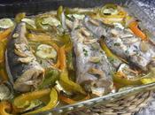 Pescadilla horno verduras