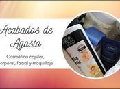 PRODUCTOS ACABADOS Agosto: Cosmética Maquillaje