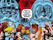 poderoso Thor:¡La guerra dioses!-La lección padre hijo