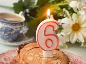 Tarta Bakewell Vegana. aniversario