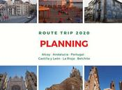Planning Route Trip 2020 España Portugal