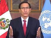 Vizcarra: Perú apoya recuperación pacífica democracia Venezuela