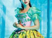 Primera imagen Lily Collins como Blancanieves