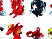 Juega Bakugan Battle Brawlers personajes Marvel