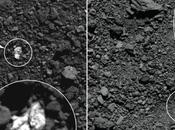 Descubren trozos unos asteroides entre material otros