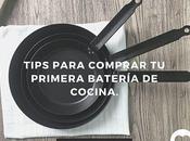 Tips para comprar primera batería cocina