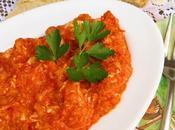 Huevos revueltos tomate