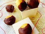 Panellets castañas almendra chocolate