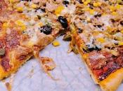 Pizza atún maíz