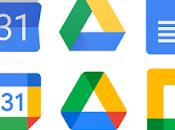 Cambio aspecto Iconos Google Suite pasa Workspace