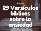 Versículos bíblicos sobre ansiedad