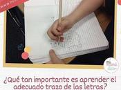 Aprender adecuado trazo letras