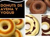 Donuts avena yogur. Idea merienda como donuts decorados Halloween