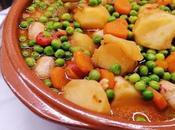 Estofado verduras