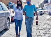 Sonia Mendoza inicia precampaña Barrio Santiago