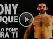 Stop sida: Tony Duque pone para