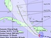 Tormenta tropical Emily amenaza Haití, Cuba declara fase informativa previsión imagen]