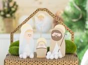 Belenes papel imprimibles para hacer familia