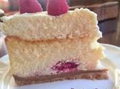 Cheesecake mousse chocolate blanco frambuesas