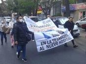 Trabajadores Hospital Central marchan hacia Palacio Gobierno