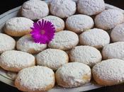 Pastas griegas almendra mantequilla