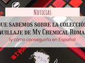sabemos sobre colección maquillaje Chemical Romance cómo conseguirla España)