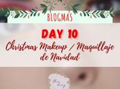 Blogmas Christmas Makeup Maquillaje Navidad