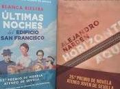 Presentación Premios Novela Ateneo Sevilla Joven 2020