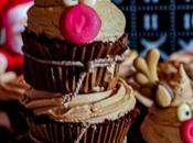 Reindeer Cupcakes (Toblerone Cupcakes)