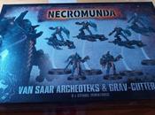 Foto-reseña caja Archeoteks Grav-Cutter Necromunda