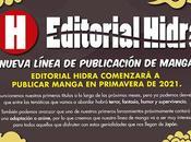 Editorial Hidra lanza nuevo sello dedicado manga