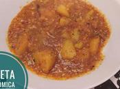 Patatas guisadas amarillo