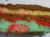 Torta colores (ideal para niños)
