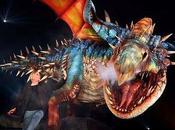 """Fascinante """"Cómo entrenar Dragón"""" vivo"""