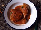 Pollo salsa anacardos